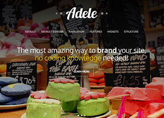 Adele theme for html
