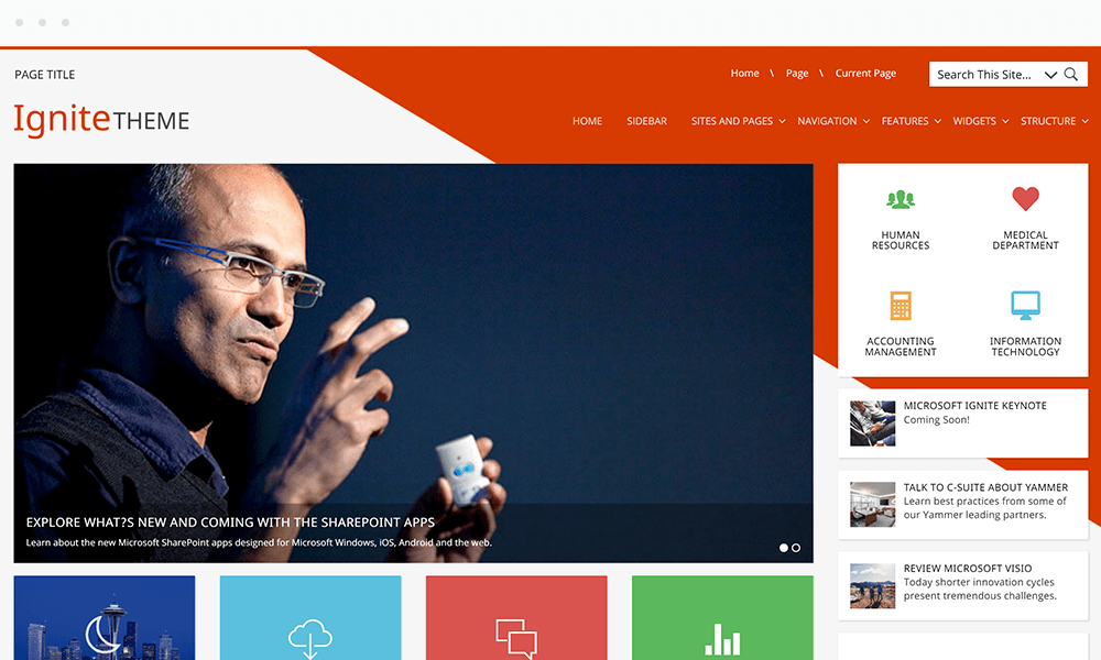 TheBootstrapTheme Theme for SharePoint and Office 365