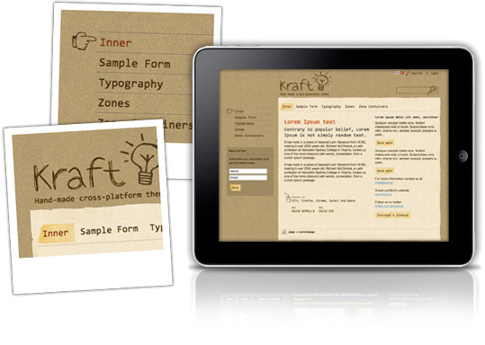Kraft theme for sharepoint