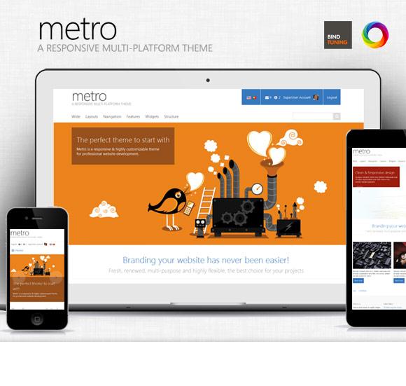 Metro theme for umbraco