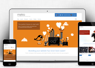 Metro theme for sharepoint