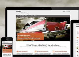 WePro theme for sharepoint