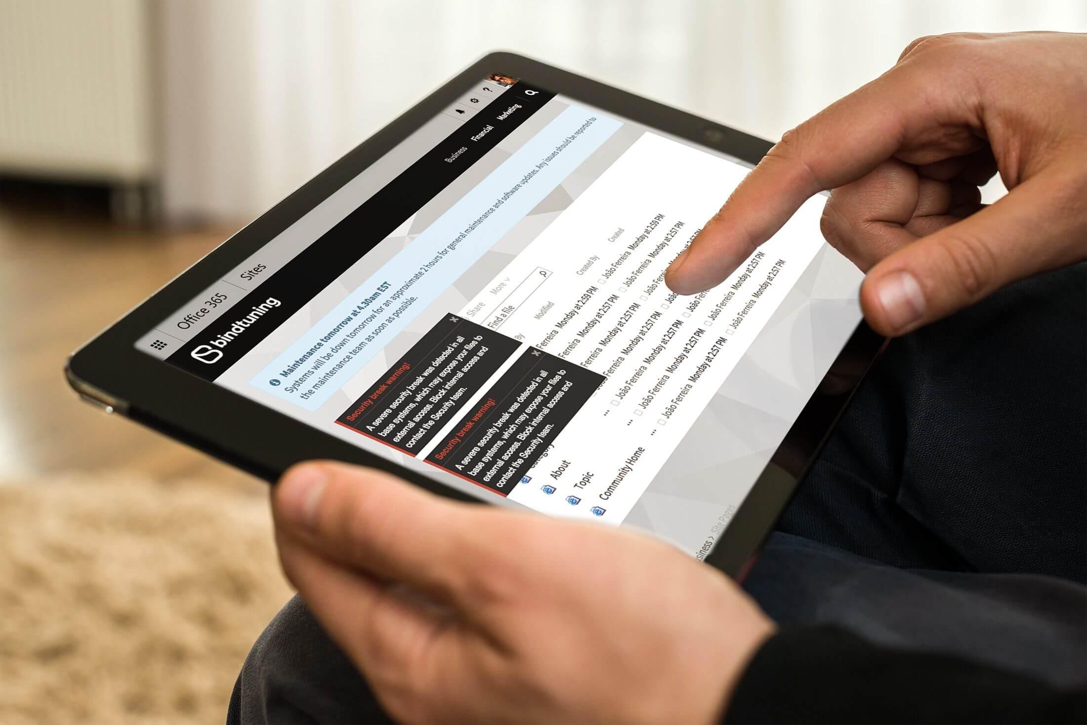 sharepoint alerts web part
